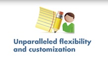 Unparalleled flexibility and customization